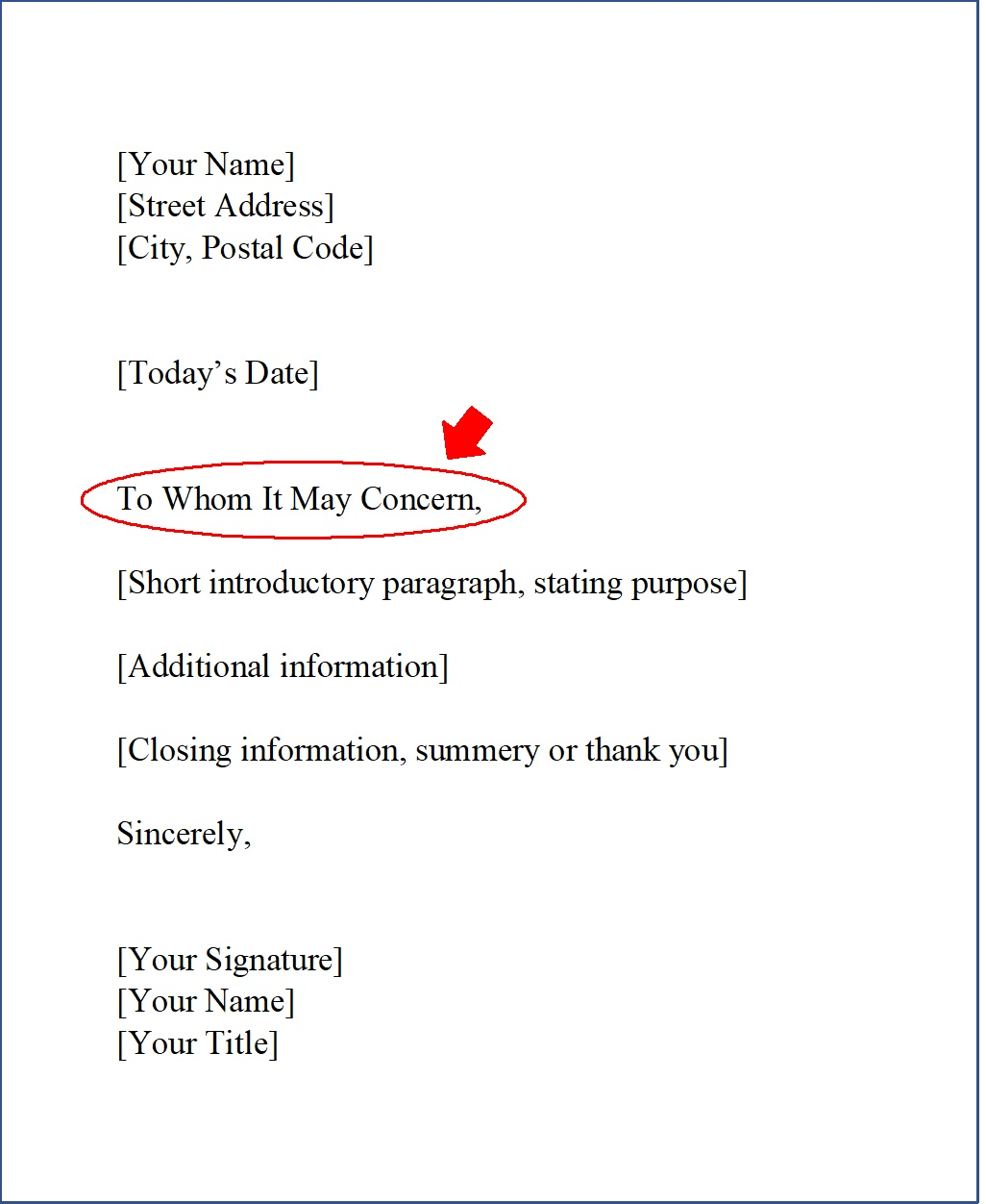 To whom it may concern what it really means and when to for Using to whom it may concern in a cover letter