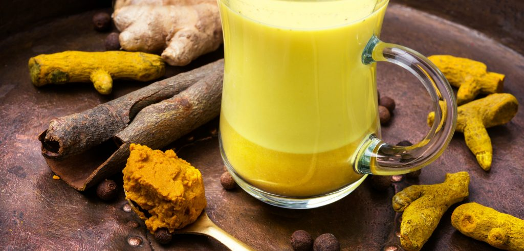 How to make milk tea - Turmeric paste